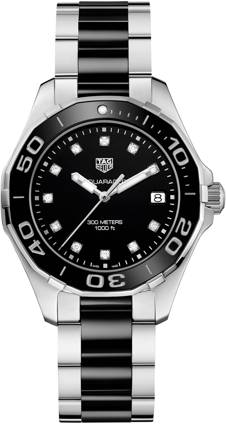 Way131c ba0913 tag heuer aquaracer for Tag heuer women