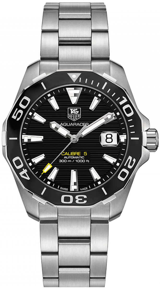 Way211a ba0928 tag heuer aquaracer 300m automatic 41mm mens water resistant watch brand new for Tag heuer aquaracer 300m