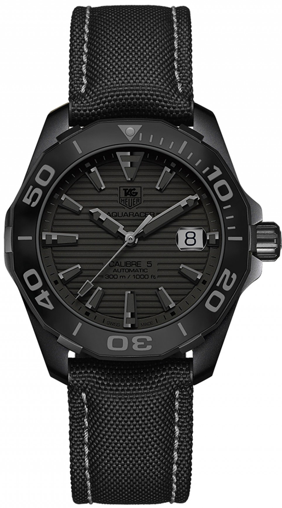 Way218b fc6364 tag heuer aquaracer 300m automatic 41mm limited edition mens water resistant for Tag heuer aquaracer