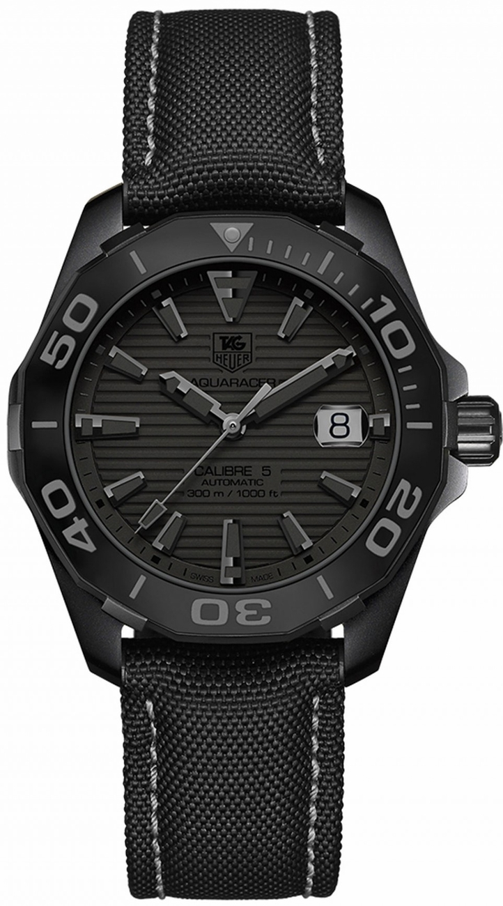 Way218b fc6364 tag heuer aquaracer 300m automatic 41mm limited edition mens water resistant for Tag heuer aquaracer 300m