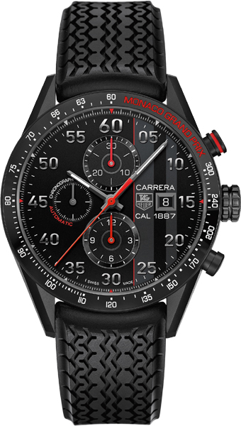 car2a83 ft6033 tag heuer carrera 1887 monaco grand prix mens watch. Black Bedroom Furniture Sets. Home Design Ideas