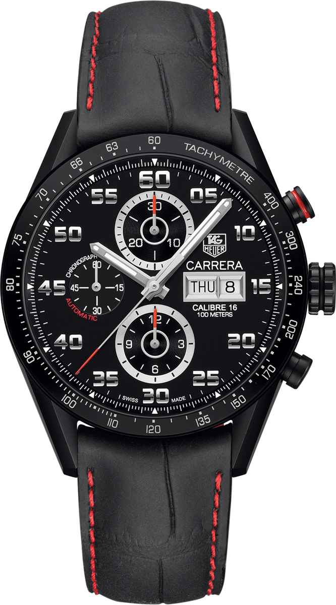 Tag heuer carrera cv2a81 fc6237 mens automatic chronograph watch brand new for Tag heuer carrera