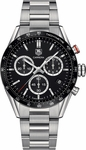 TAG HEUER CARRERA QUARTZ CHRONOGRAPH 43MM