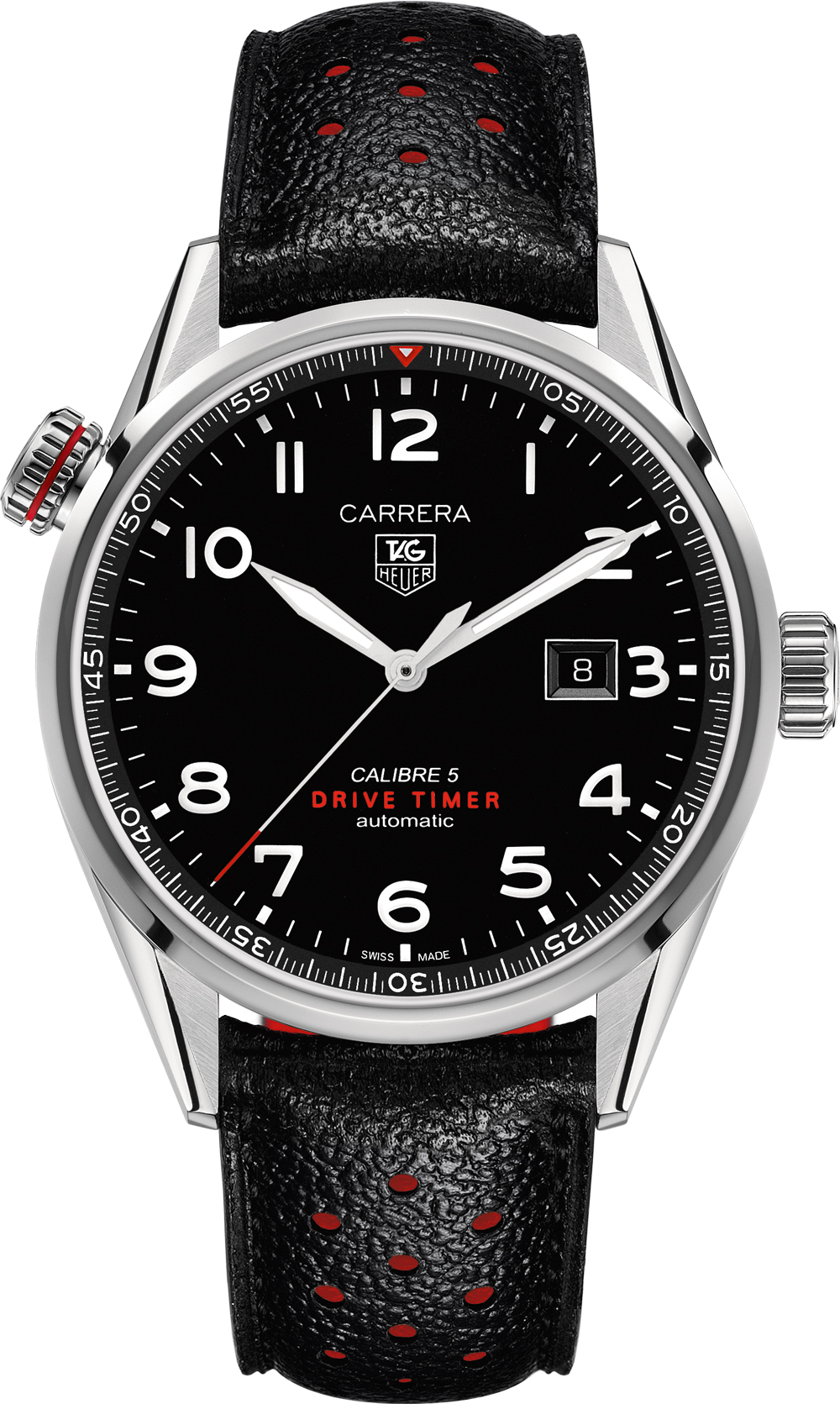 War2a10 fc6337 tag heuer carrera automatic mens watch for Tag heuer carrera