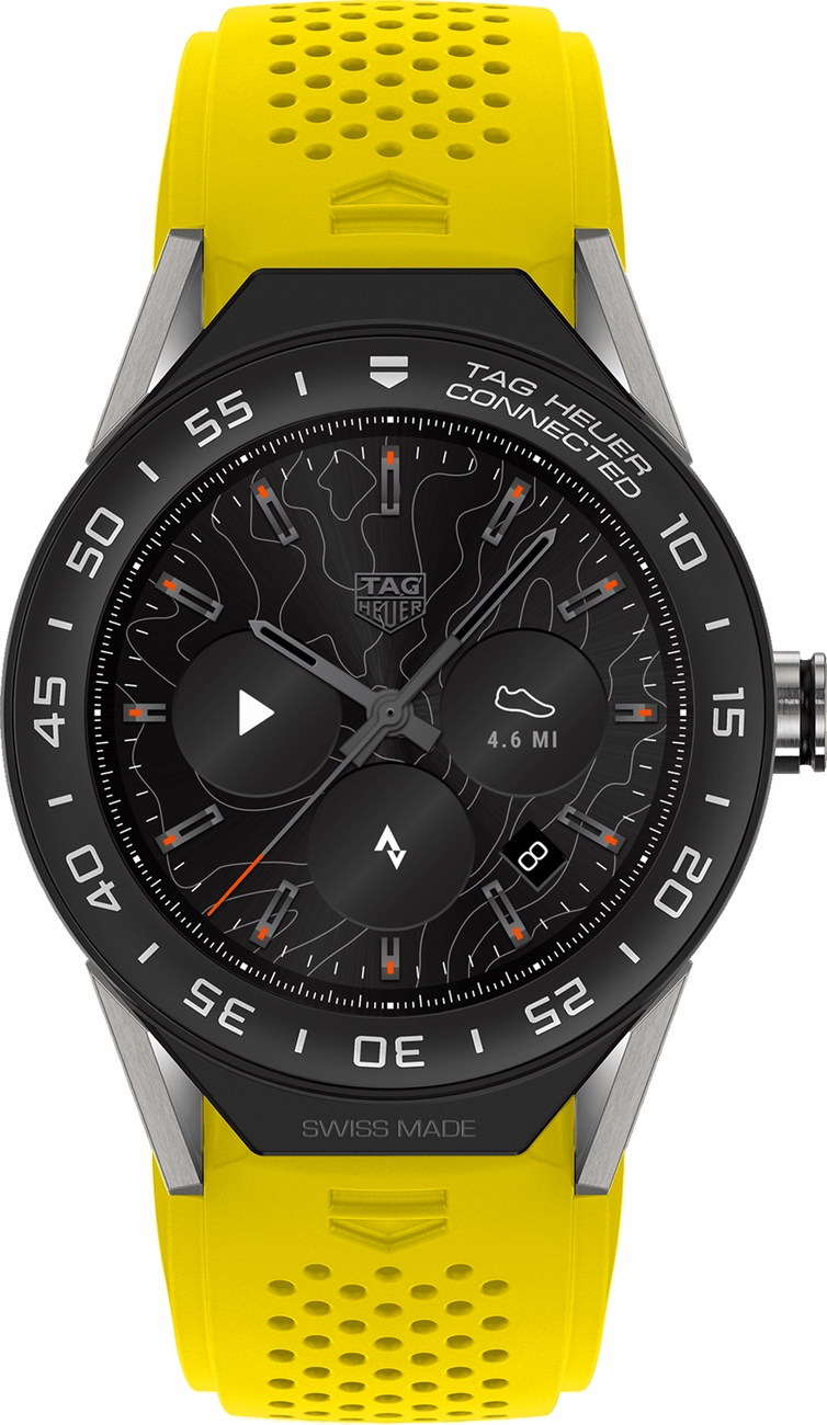 Buy TAG Heuer Connected Yellow Strap SBF8A8001.11FT6082