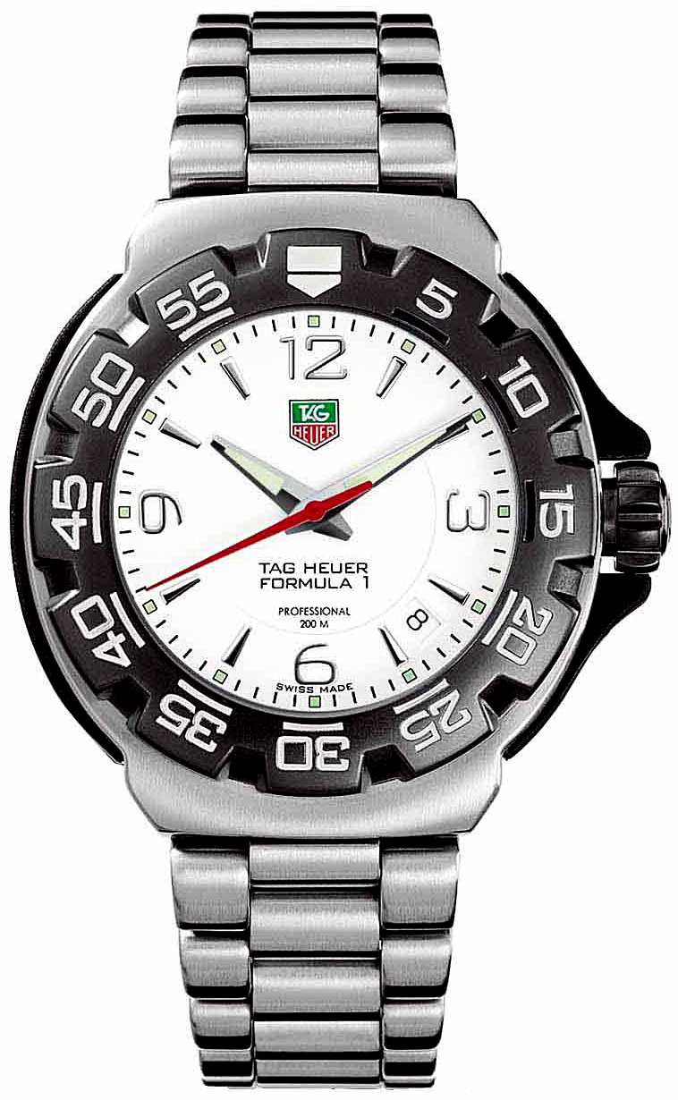 tag heuer f1 wac1111 ba0850 men 39 s quartz watch. Black Bedroom Furniture Sets. Home Design Ideas