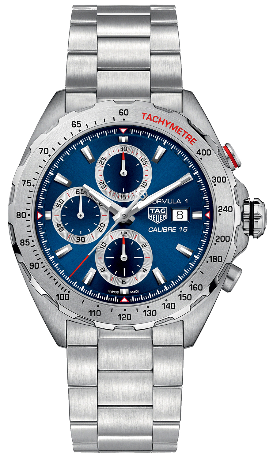 caz2015 ba0876 tag heuer formula 1 blue dial men 39 s watch. Black Bedroom Furniture Sets. Home Design Ideas