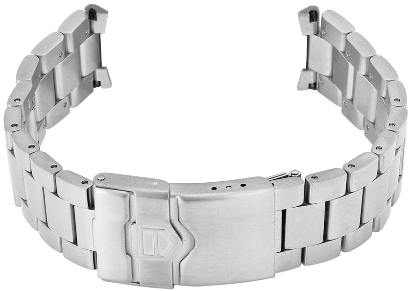 ba0877 tag heuer formula one brushed steel bracelet brand new