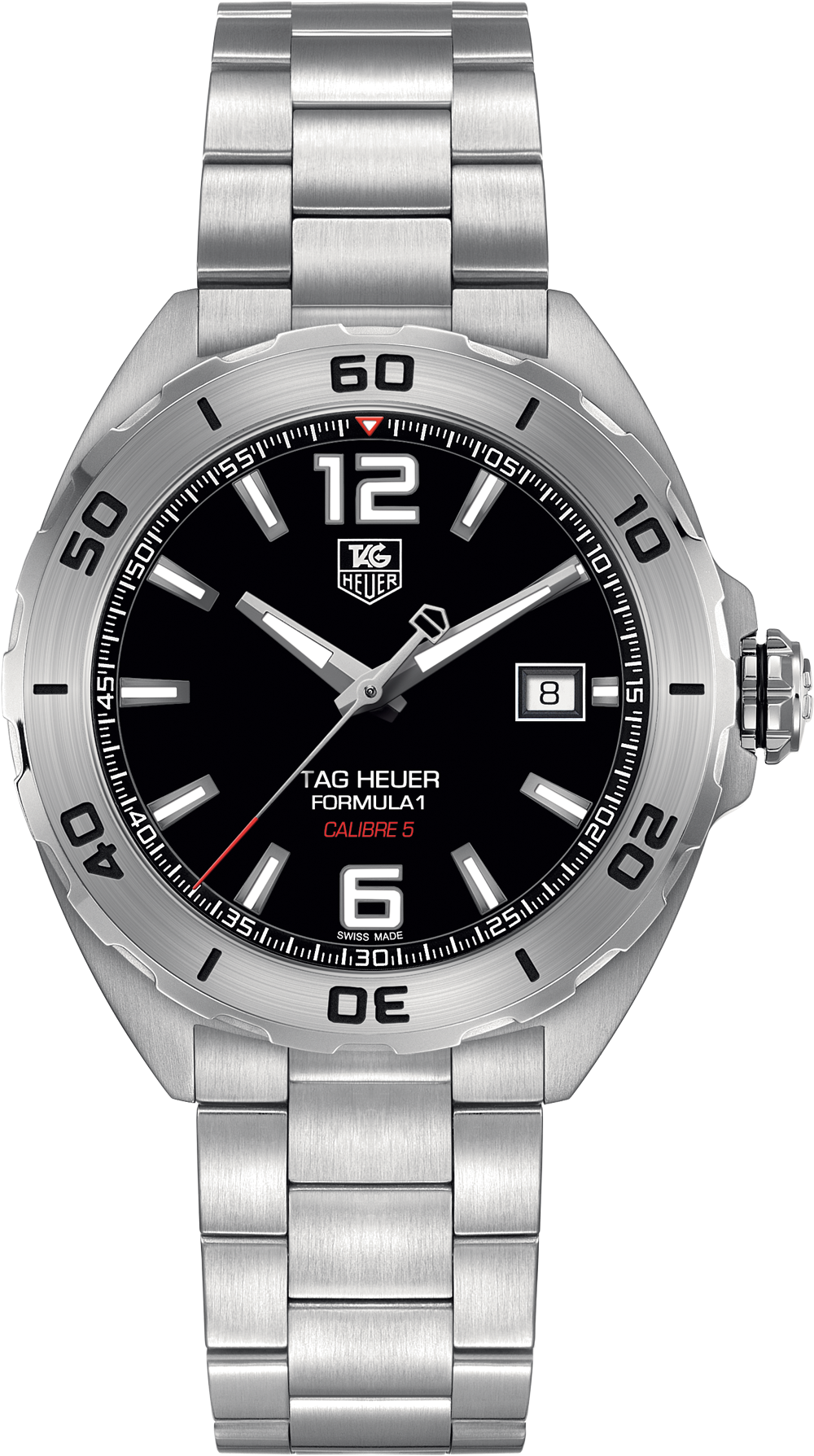 Best Automatic Watches >> WAZ2113.BA0875 TAG Heuer Formula One Mens Steel Automatic ...