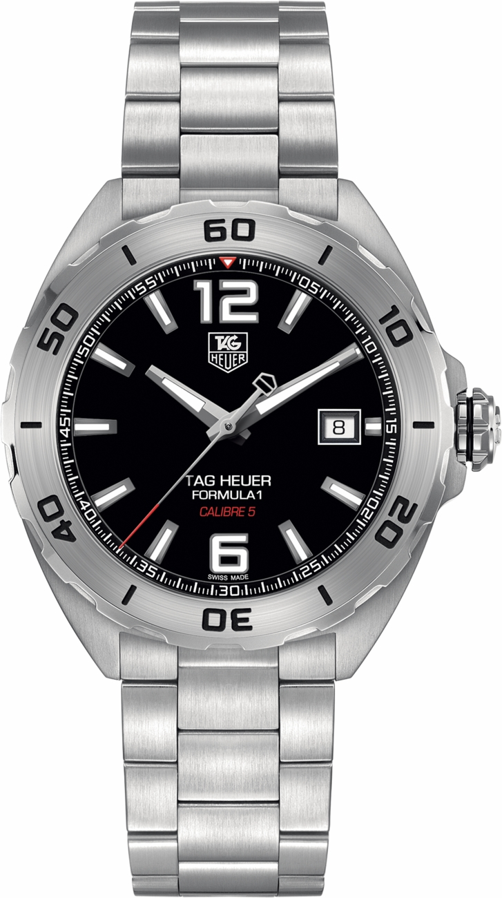 waz2113 ba0875 tag heuer formula one mens steel automatic watch tag heuer formula 1 waz2113
