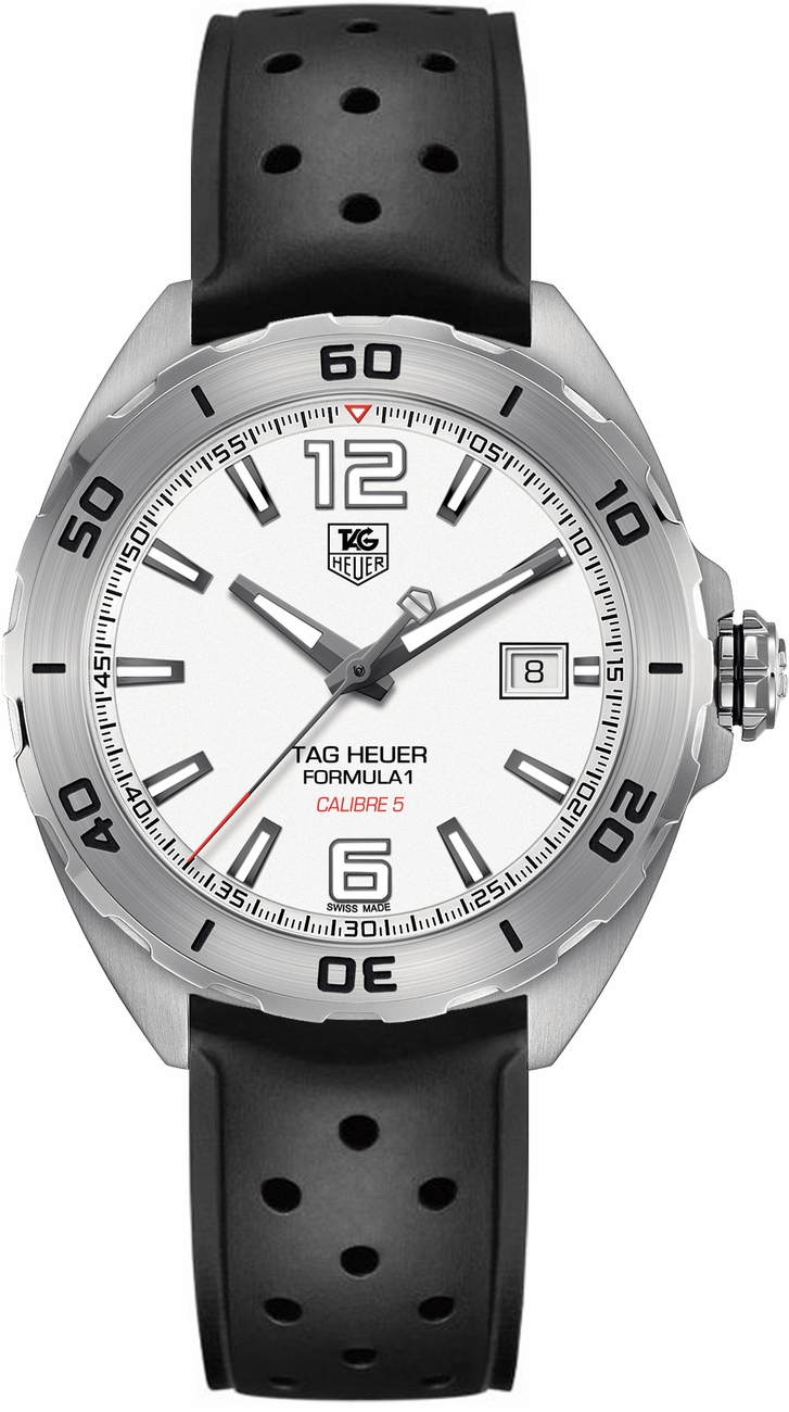tag heuer formula one waz2114 ft8023 mens automatic watch brand new. Black Bedroom Furniture Sets. Home Design Ideas
