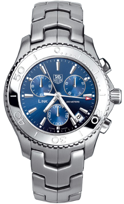 Cj1112 ba0576 tag heuer link mens watch for Tag heuer d link