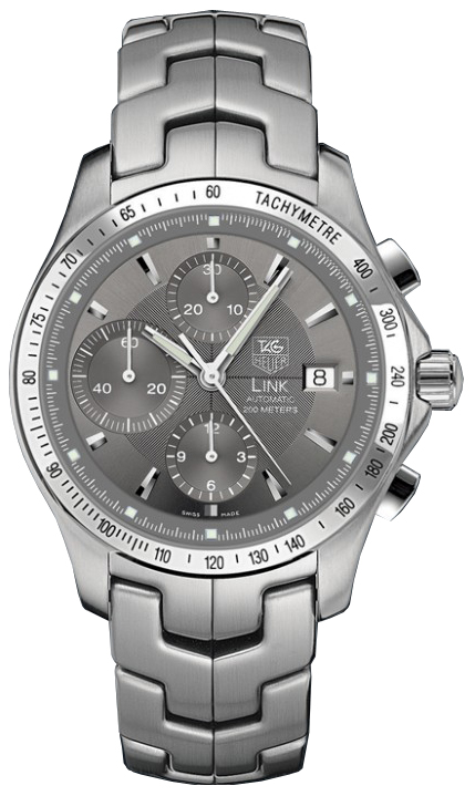 Cjf2115 ba0594 tag heuer link automatic chronograph tachymetre watch for Tag heuer d link