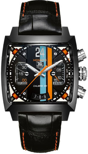 cal5110 fc6265 tag heuer monaco 24 chronograph mens watch. Black Bedroom Furniture Sets. Home Design Ideas