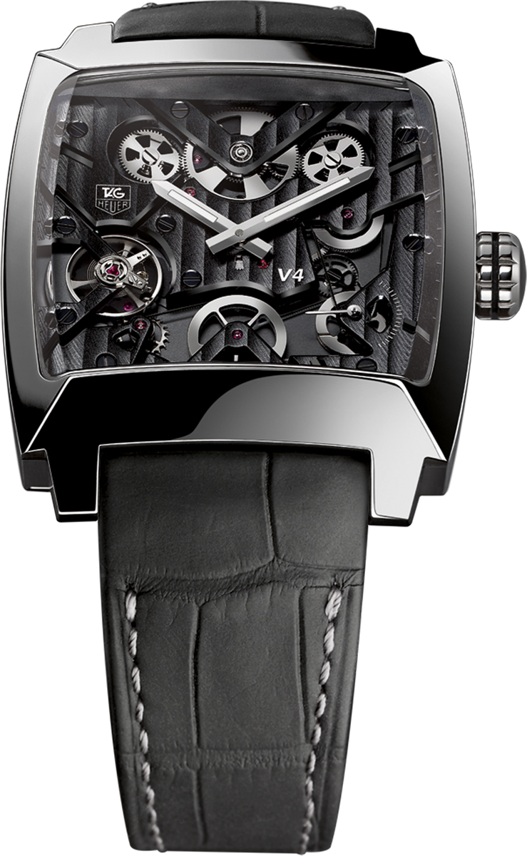 waw2080 fc6288 tag heuer monaco v4 automatic mens watch. Black Bedroom Furniture Sets. Home Design Ideas