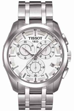 T035 617 11 031 00 Tissot Couturier Silver Chronograph