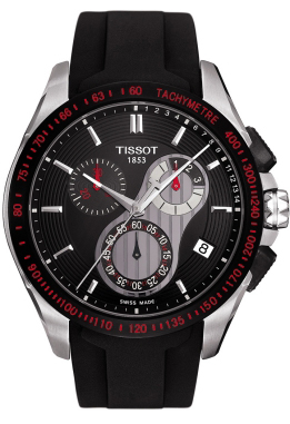 Breitling Watches For Sale >> T024.417.27.051.00 Tissot T-Sport Black Chronograph Dial ...