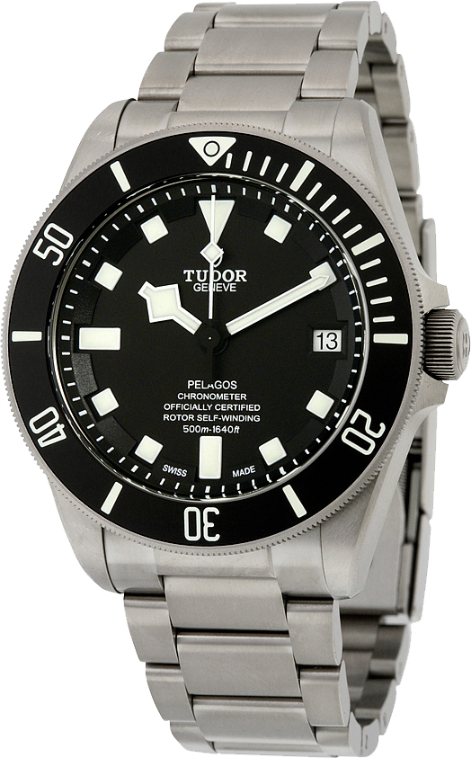 25600tn 0001 new tudor pelagos titanium luxury mens diver - Tudor dive watch price ...