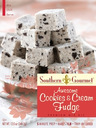 Cookies & Cream Fudge Premium Mix (6-pk case)