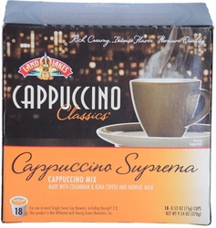 LAND O LAKES® Cappuccino Single Serve - Classic Suprema 18 Cup Box