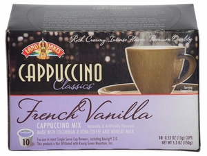 LAND O LAKES® Cappuccino Single Serve - French Vanilla 10 Cup Box