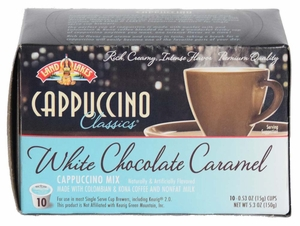 LAND O LAKES® Cappuccino Single Serve - White Chocolate Caramel 10 Cup Box