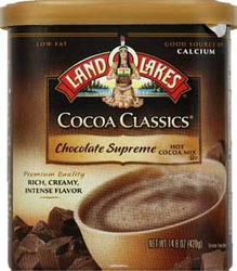 LAND O LAKES® Chocolate Supreme Cocoa Classics® Canister 6 Count Case