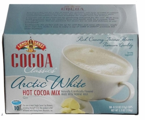 LAND O LAKES® Cocoa Single Serve - Arctic White 10 Cup Box