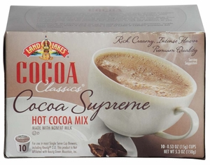 LAND O LAKES® Cocoa Single Serve - Supreme 10 Cup Box