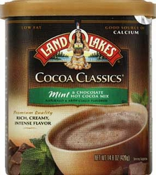 LAND O LAKES® Mint & Chocolate Cocoa Classics® Canister 6 Count Case