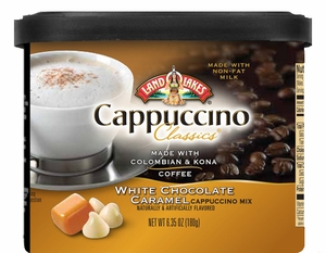 Land O Lakes® White Chocolate Caramel Cappuccino Canister