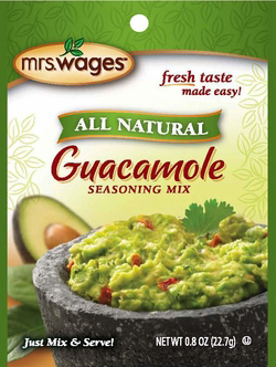Mrs. Wages® All Natural Guacamole Seasoning Mix Case