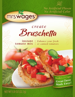 Mrs. Wages® Bruschetta Mix Case