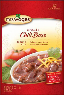 Mrs. Wages® Chili Base Tomato Case