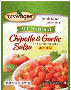 Mrs. Wages® Chipotle & Garlic Salsa Mix