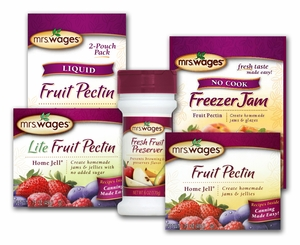 Mrs. Wages® Fresh Fruit Preserver & Pectin