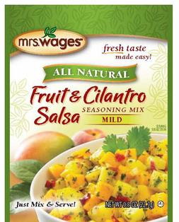 Mrs. Wages® Fruit & Cilantro Salsa Mix Case