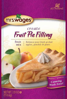 Mrs. Wages® Fruit Pie Filling Mix Case