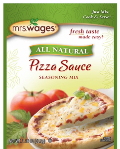 Mrs. Wages® Instant Pizza Sauce Mix