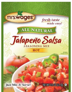 Mrs. Wages® Jalapeno Salsa Mix Case