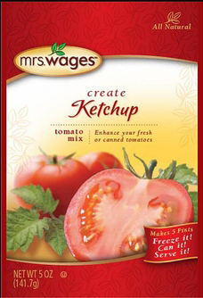 Mrs. Wages® Ketchup Tomato Mix