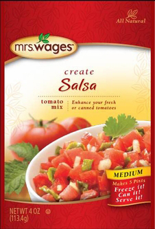 Mrs. Wages® Medium Salsa Tomato Mix Case