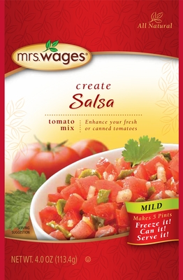 Mrs. Wages® Mild Salsa Tomato Mix Case