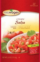 Mrs. Wages® Mild Salsa Tomato Mix