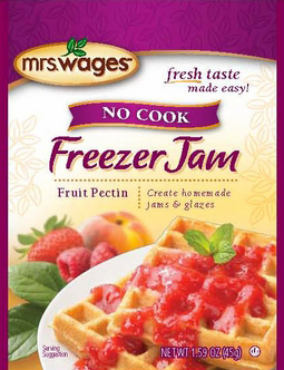 Mrs. Wages® No Cook Freezer Jam Fruit Pectin