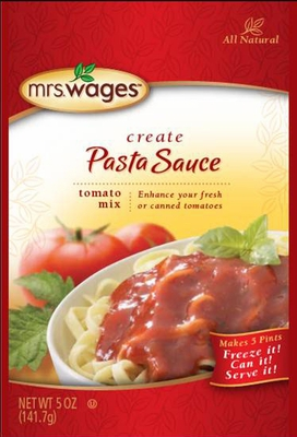 Mrs. Wages® Pasta Sauce Mix Case