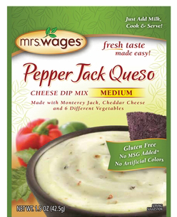 Mrs. Wages® Pepper Jack Queso Cheese Dip Mix Case