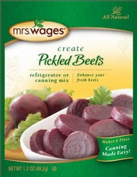 Mrs. Wages® Pickled Beets Refrigerator or Canning Mix Case