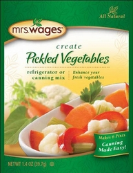 Mrs. Wages® Pickled Vegetables Refrigerator or Canning Mix Case