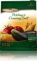 Mrs. Wages® Pickling & Canning Salt